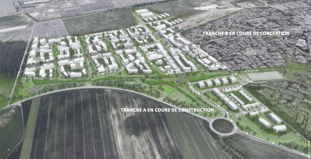 ZAC GRAND PARC BONDOUFLE (91) - 48 hectares
