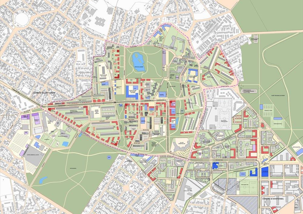 Piscine Clichy Sous Bois - Villes& Territoires u2014 bécardmap
