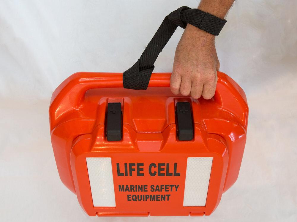 Life Cell's writ lanyard