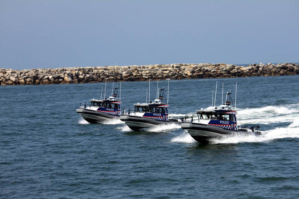 Police Boats Australia