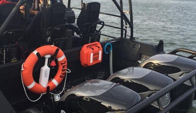 three times the power, two times the safety. - - - - - #boatsafety #boatessentials #boating #besafe #boatlife #USCG #coastguard #USAcoastguard #boats #safety