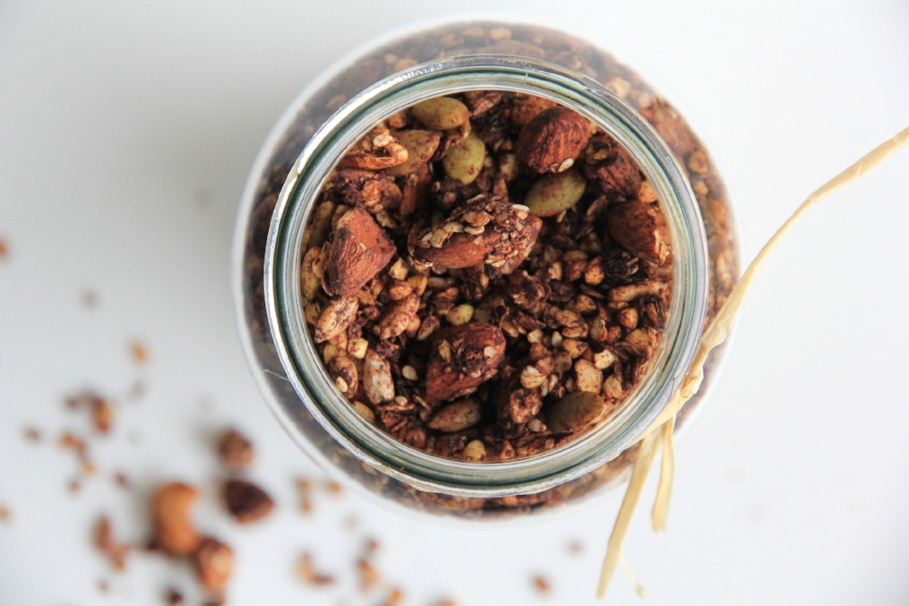 Homemade Vanilla Almond Granola An Easy Recipe For The Busy Mom Crystal Karges Nutrition Registered Dietitian Nutritionist In San Diego Ca