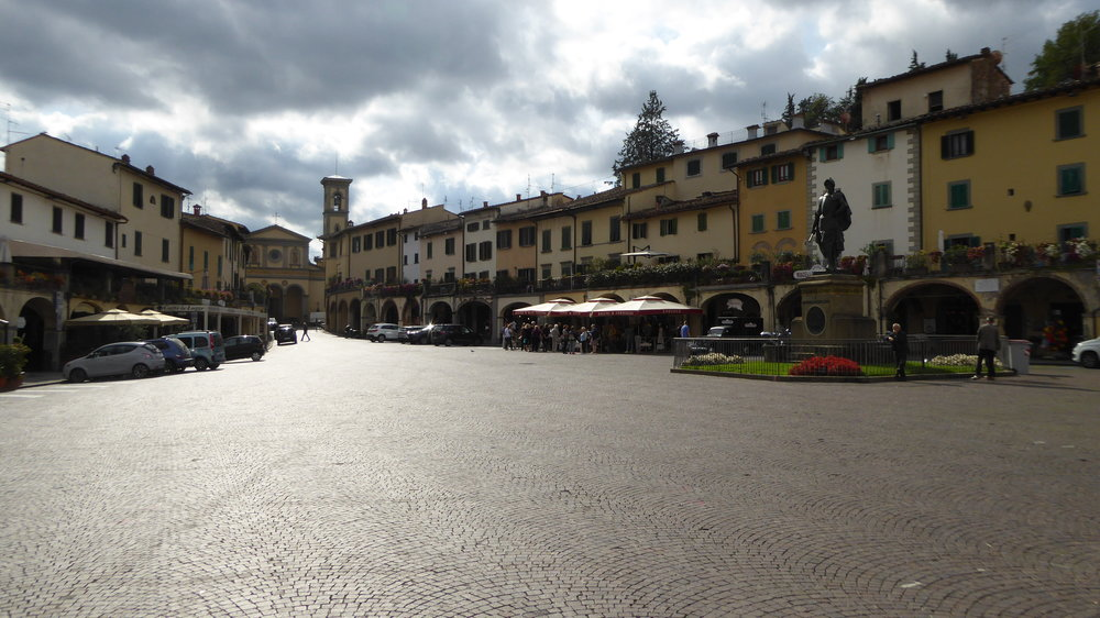 Greve in Chianti's main square