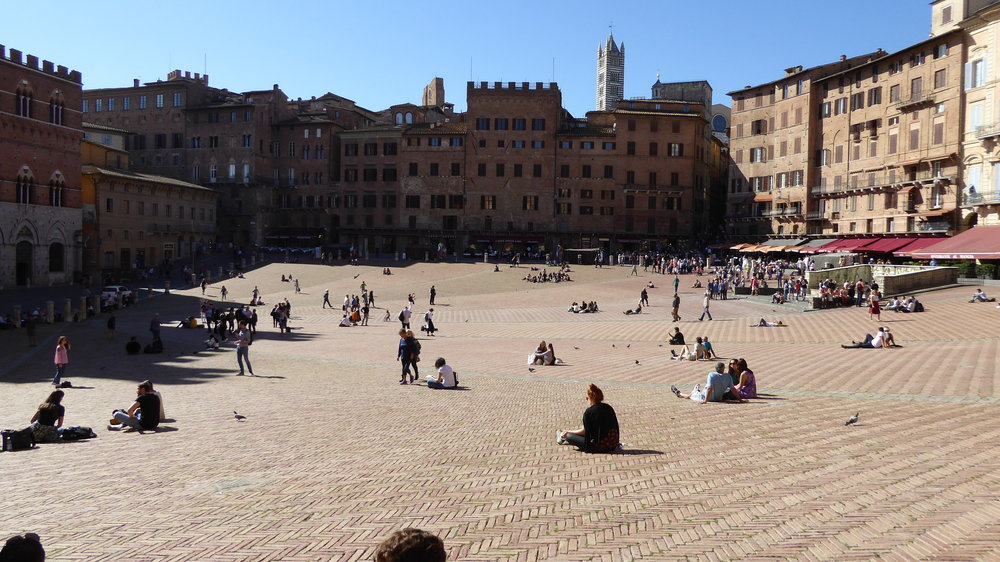 Piazza Campo, Siena