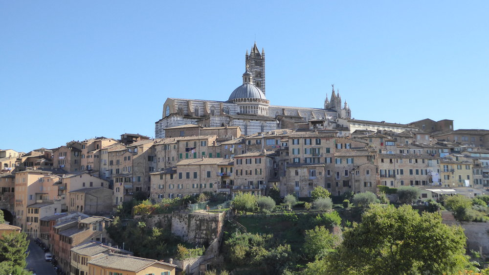 View from Basilica di San Francesco, Siena