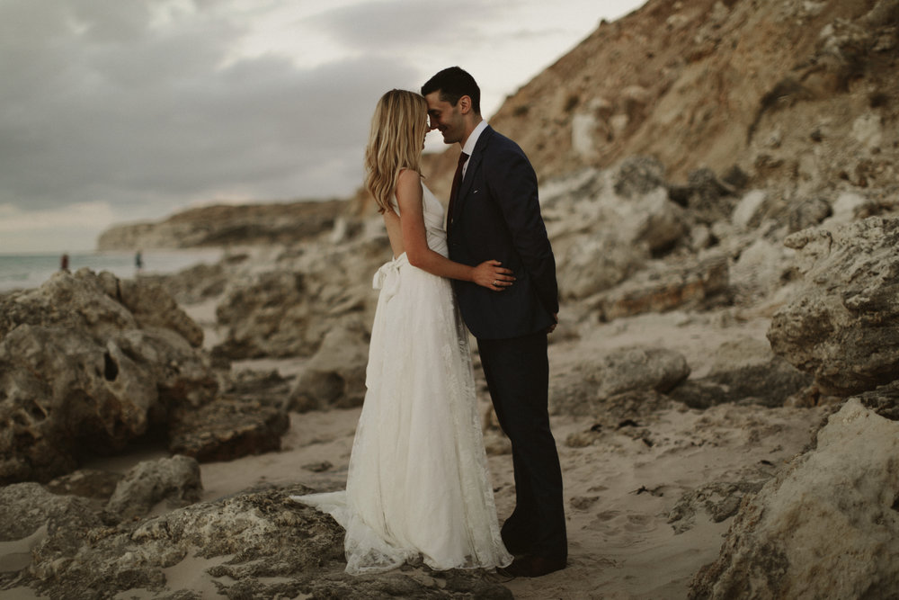 Did you catch last Month's friday bride, Belinda? - Our cool bride walked down the aisle in an Iconic Collection dress