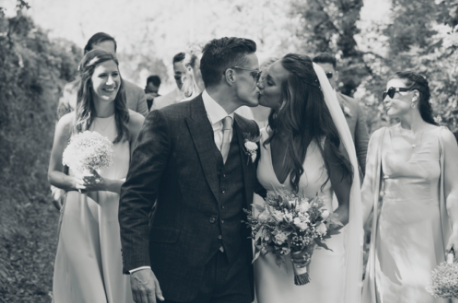 Did you catch last Month's friday bride, Natasha? - Our cool bride walked down the aisle in an Iconic Collection dress