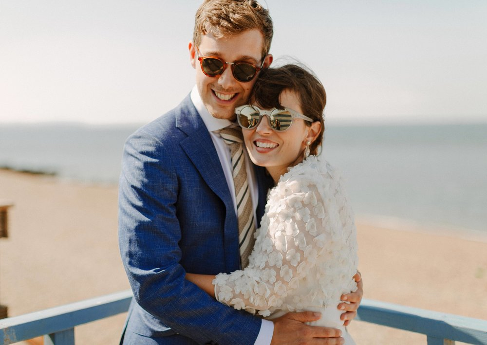 Chloe WAS A VISION In her Charlie Brear dress - browse our bridal collection to find a style like Chloe's dress and see many more options