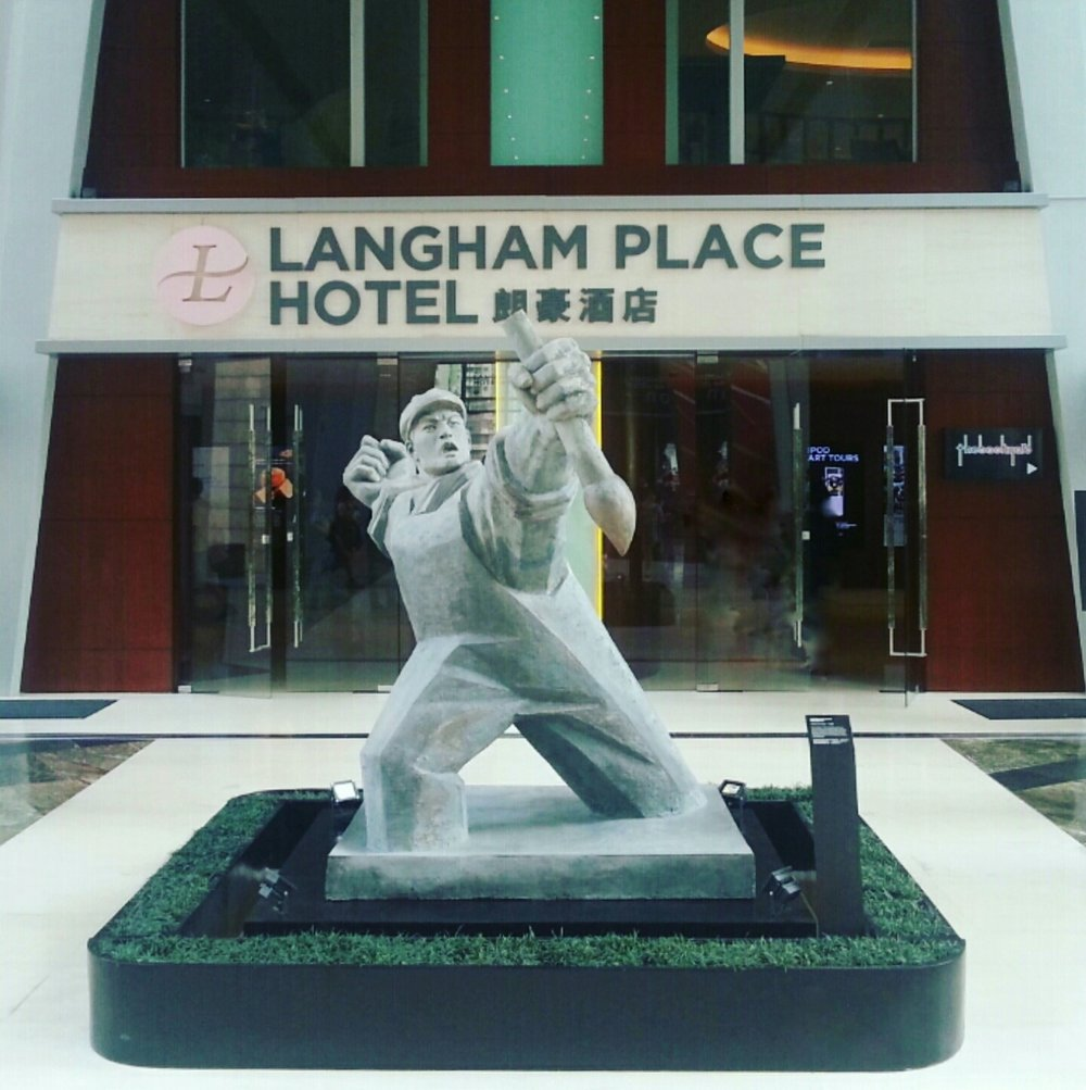 Langham Place Hong Kong, 2014