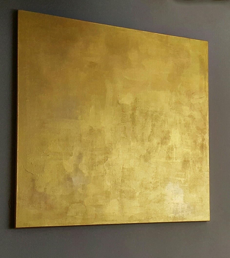"""Golden Desert"" 2015, acrylic paint"