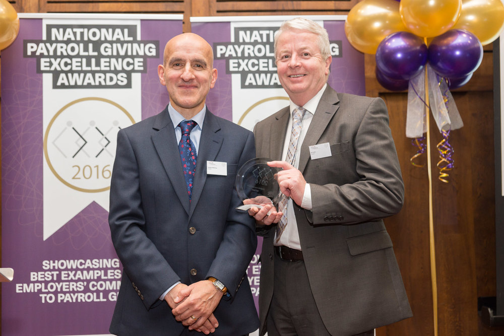 Ian Yates,Costco Wholesale UK -Best Corporate Champion