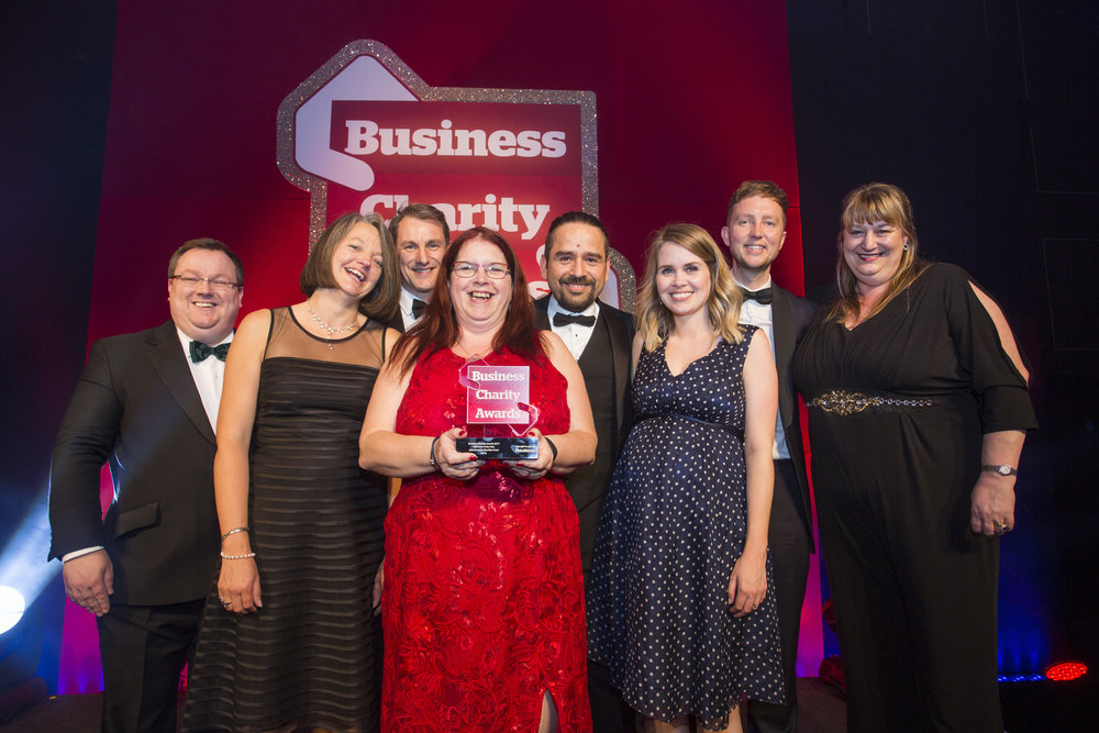 Aviva  scoop two awards on the night - CSR Team of the Year and Charity Partnership: Financial Services (Insurance)