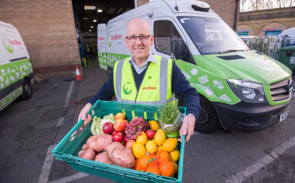 Lindsay Boswell, CEO of Fareshare Credit: Paul Grover