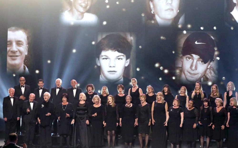 The Missing People choir on Britain's Got Talent Credit: Syco / Thames /Dymond