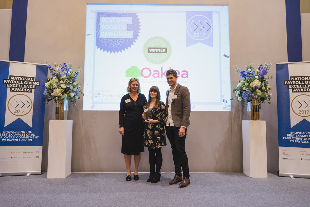 The Oaklea Trust  |  Best Civil Society Employer