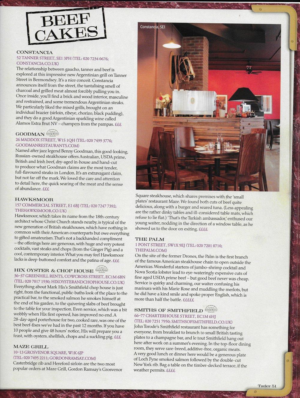 Tatler Restaurant Guide 2010 - Constancia - Beef Cakes.jpeg