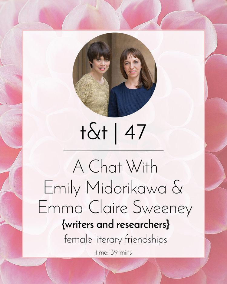 A Secret Sisterhood: The Hidden Friendships of Austen, Bronte, Eliot and Woolf d'Emily Midorikawa & Emma Claire Sweeney Teaandtattleasecretsisterhood_4