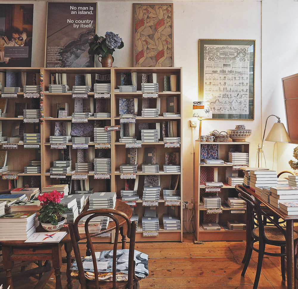 Persephone Books, Lamb's Conduit Street, London