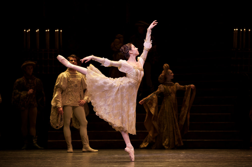 Yasmine Naghdi as Juliet in 'Romeo &Juliet,' by Sir Kenneth MacMillan. Photo credit: Andre Uspenski.
