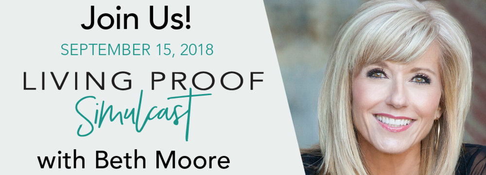 """Early Bird Special through September 1st - $20    Cost after September 2nd - $25    Includes: Live """"Living Proof"""" Event Simulcast, lunch, drinks, and snacks.    No Childcare offered."""