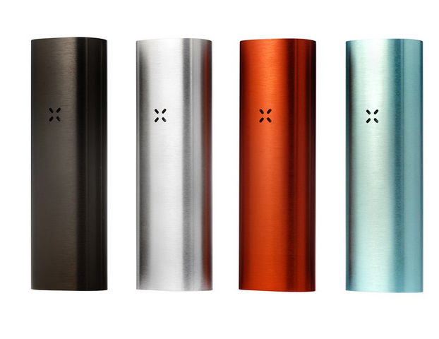 Pax 2 Vaporizer - Available in 4 colors - Lithium-ion battery recharges in 2-3 hours via USB or AC wall adapter. - Takes less than a minute to fully heat. Green means go. - Two interchangeable mouthpieces with lip-sensing technology.