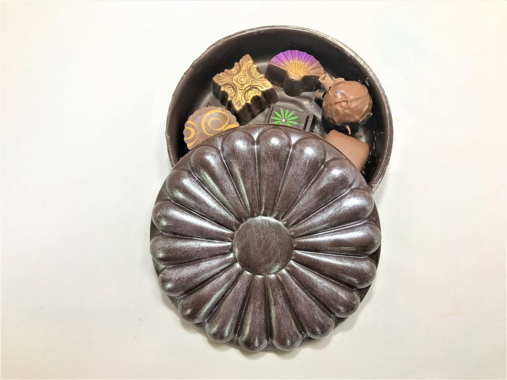 Flower Chocolate Truffle Box.JPG