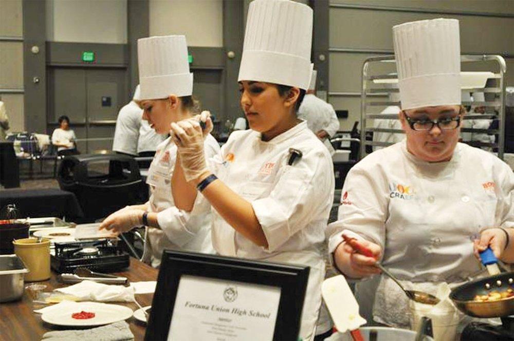 Photo courtesy of Fortuna High School Culinary Arts