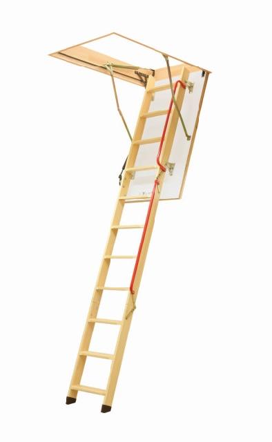 Fakro LWL Deluxe Timber Bi-folding Loft Ladder. (160kg)