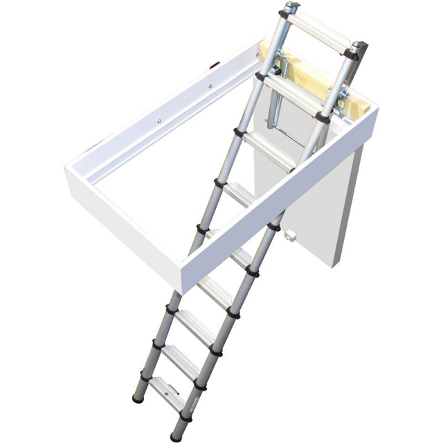 Youngman Telescopic Loft Ladder (150kg)