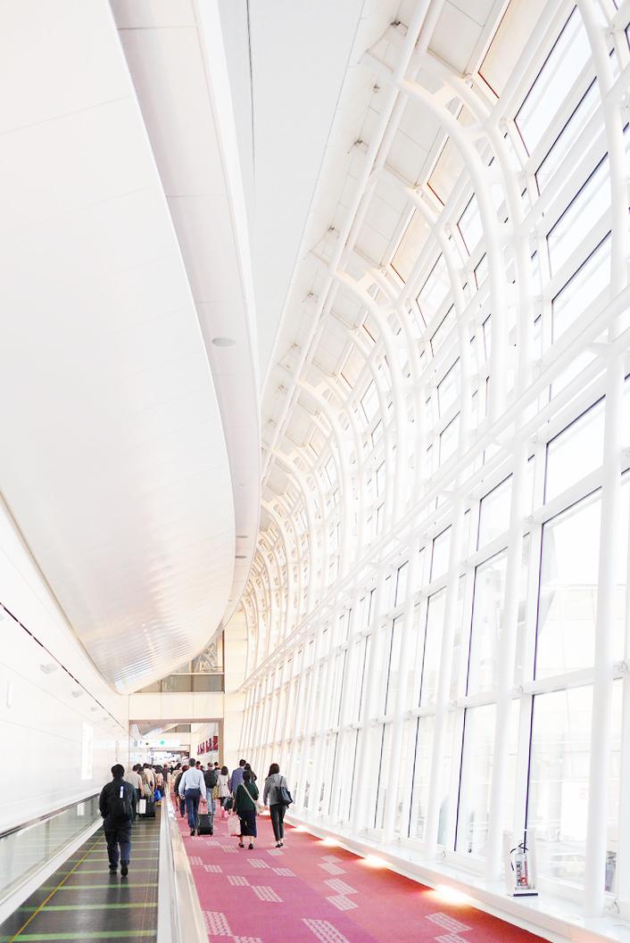 Haneda Airport, Tokyo.