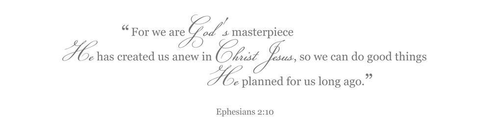 BibleVerseforBaby(Ephesians 2.10)