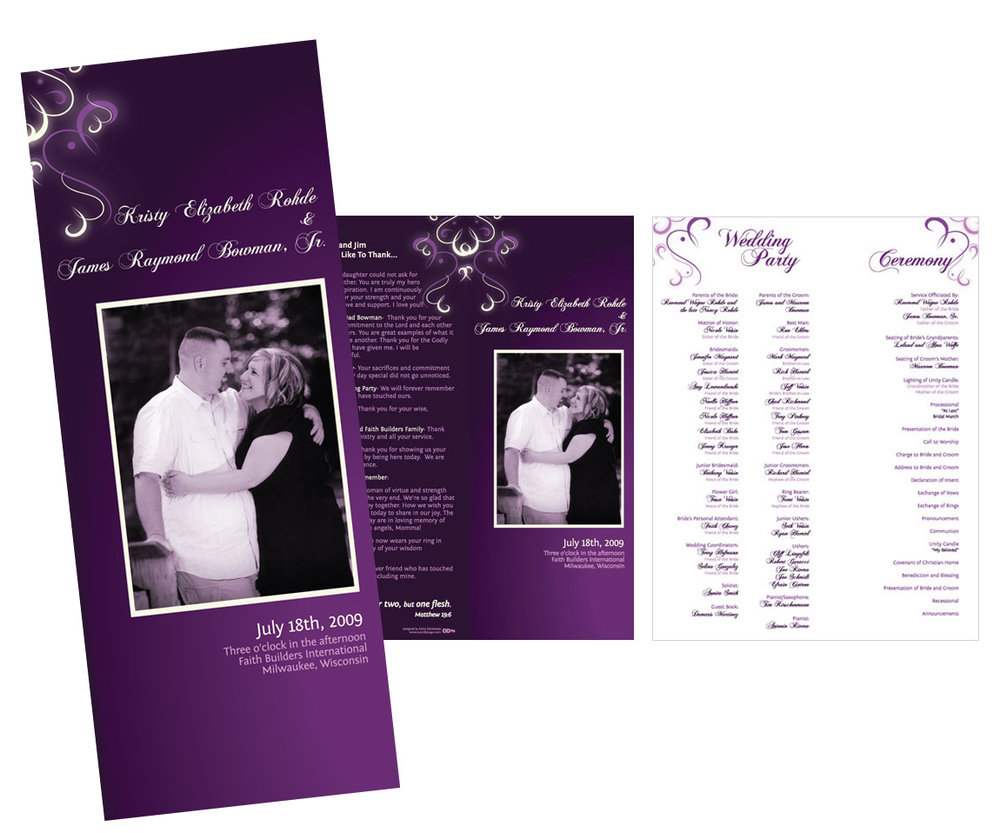 Wedding Invites Kristy Ellenbecker