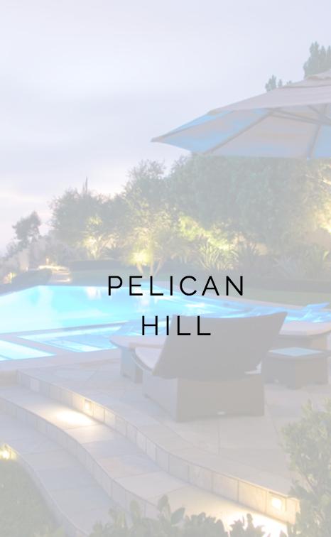PELLICAN HILL NEWPORT BEACH, CA PROJECT LANDSCAPE CONSTRUCTION