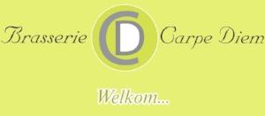 Het oude logo van Carpe Diem