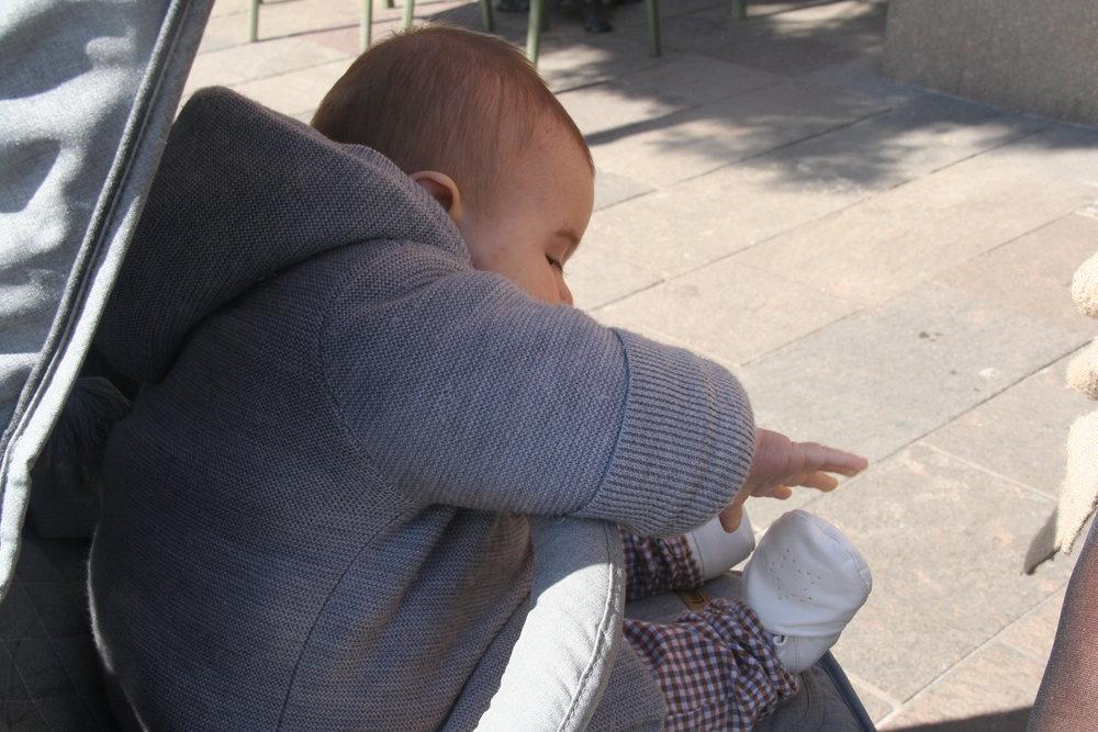 Garde corps pour bébé
