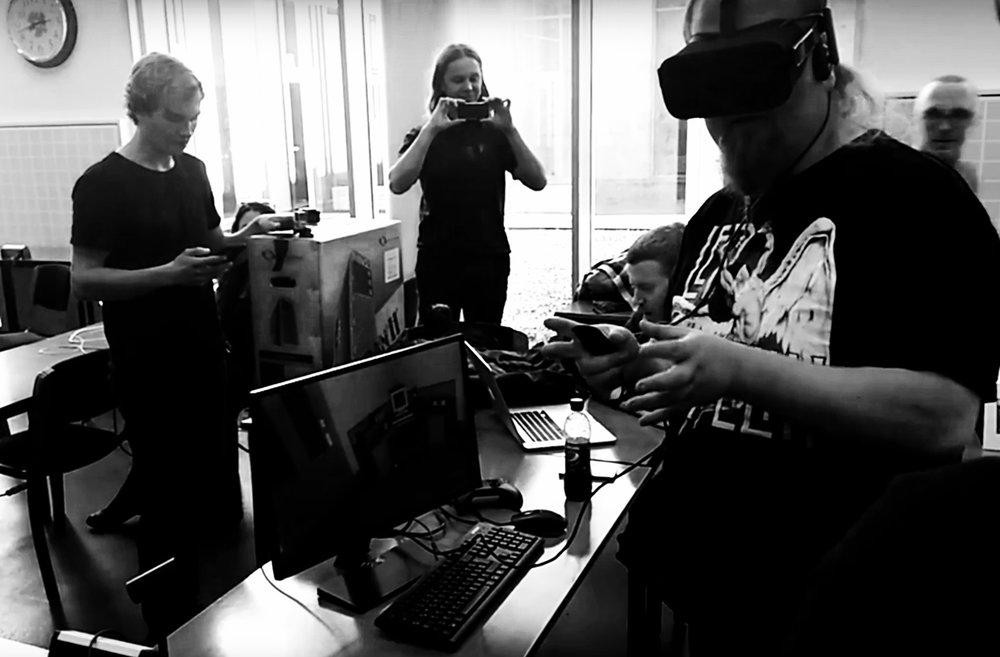 Teams created VR games over the span of one weekend in Reykjavik, Iceland. Photo Aaltoes.