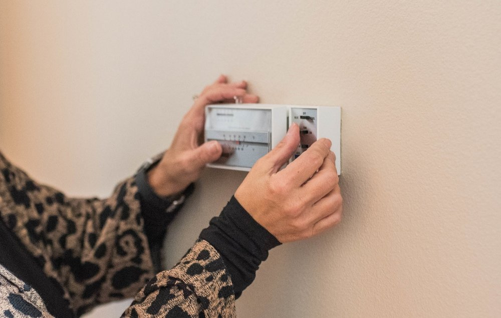 Test your thermostat to make sure your system is responsive in the cold.