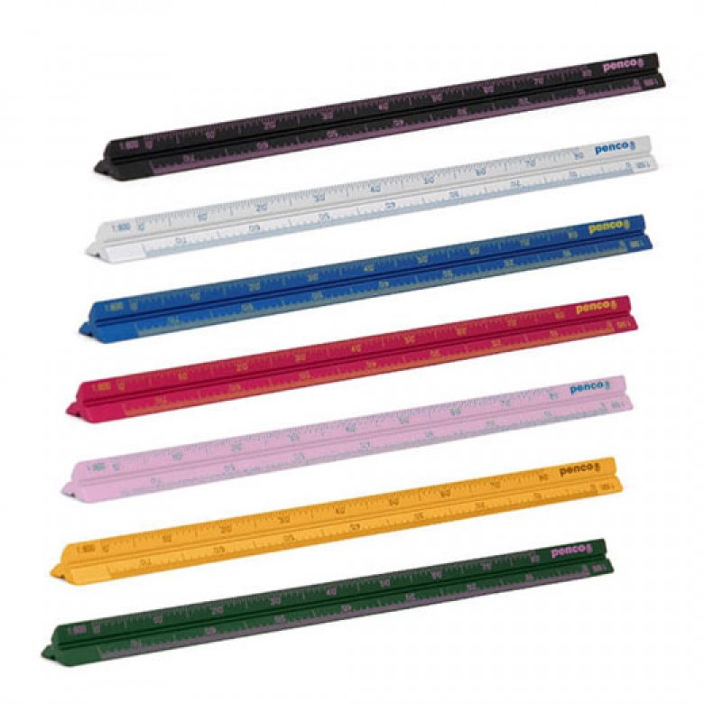 HIGHTIDE PENCO Drafting Scale Ruler / 10€