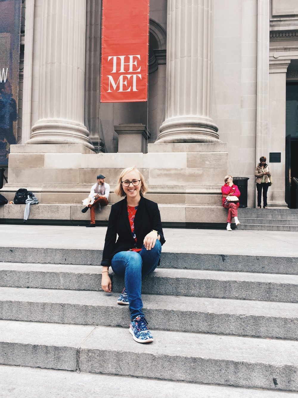 I spent a wonderful day at the Metropolitan Museum of Art. One of the best parts of traveling alone is getting to wander museums at your own ideal pace.