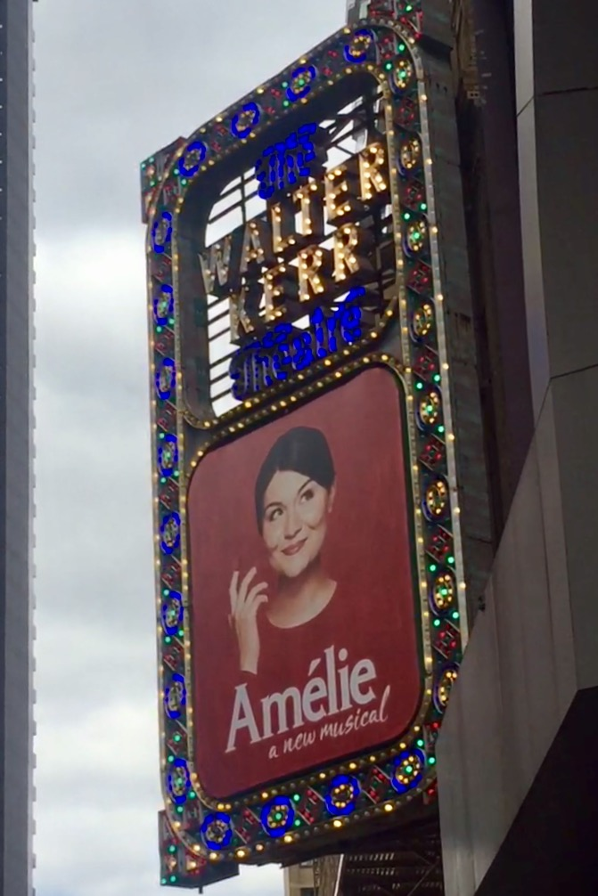 Ameliéopened on Monday. I saw it on Wednesday. It was charming and magical and Phillipa Soo was an utter delight.