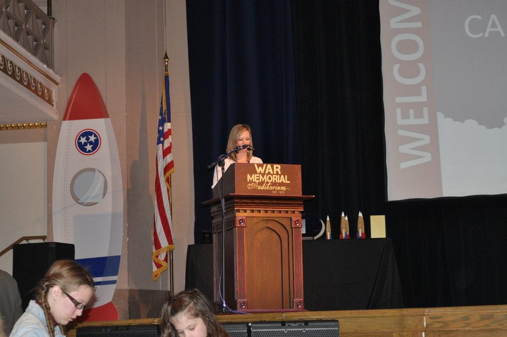 at podium.JPG