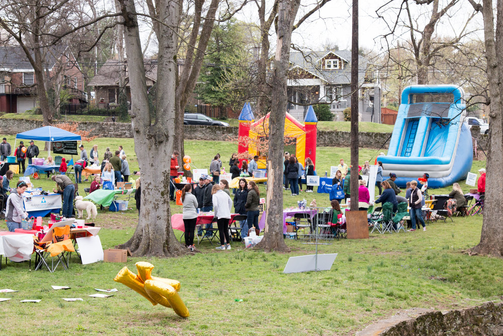 We partnered with the Nashville Children's Alliance to host nearly 1000 people at our FREE community event at Sevier Park in Nashville in April 2017.  See more from the event...