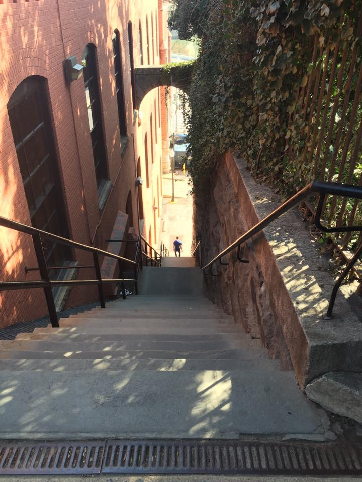 Georgetown Steps                           [Think Exorsist]
