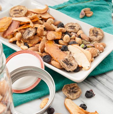 Dried Fruit and Nut Trail Mix