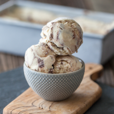 Super Fudgy Marble Fudge Ice Cream Recipe
