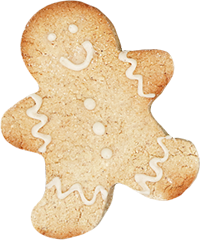 Holiday Cookies: Gluten-Free Gingerbread Men