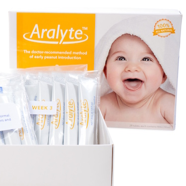 Introducing Peanuts to Infants Aralyte
