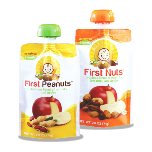 First Nuts early introduction food