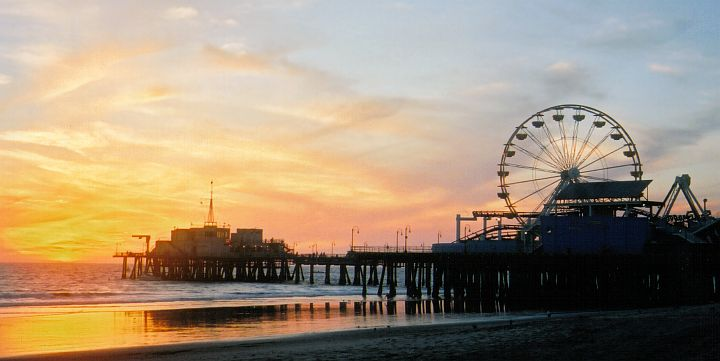 City Guide- Los Angeles Santa Monica Pier