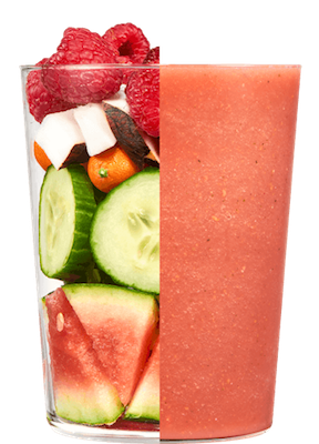 Daily Harvest food allergy friendly delivery smoothie